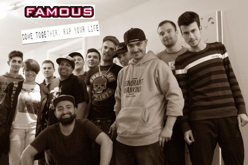 famous-musik-projekt-come-together-rap-your-life-2015